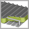 Insulation: Metal-clad pitched roofs